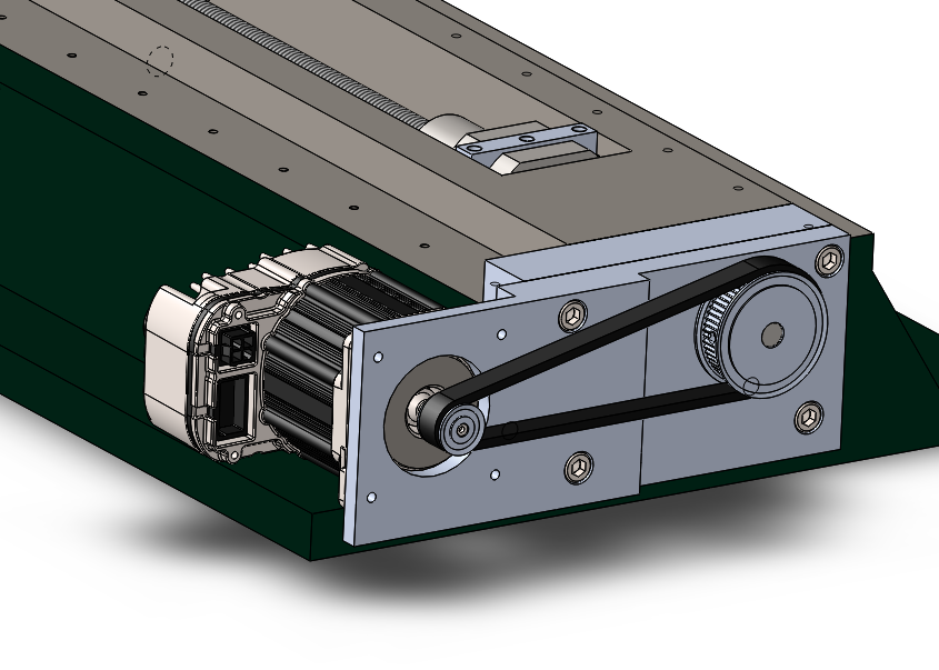 Y Axis Motor Assembly