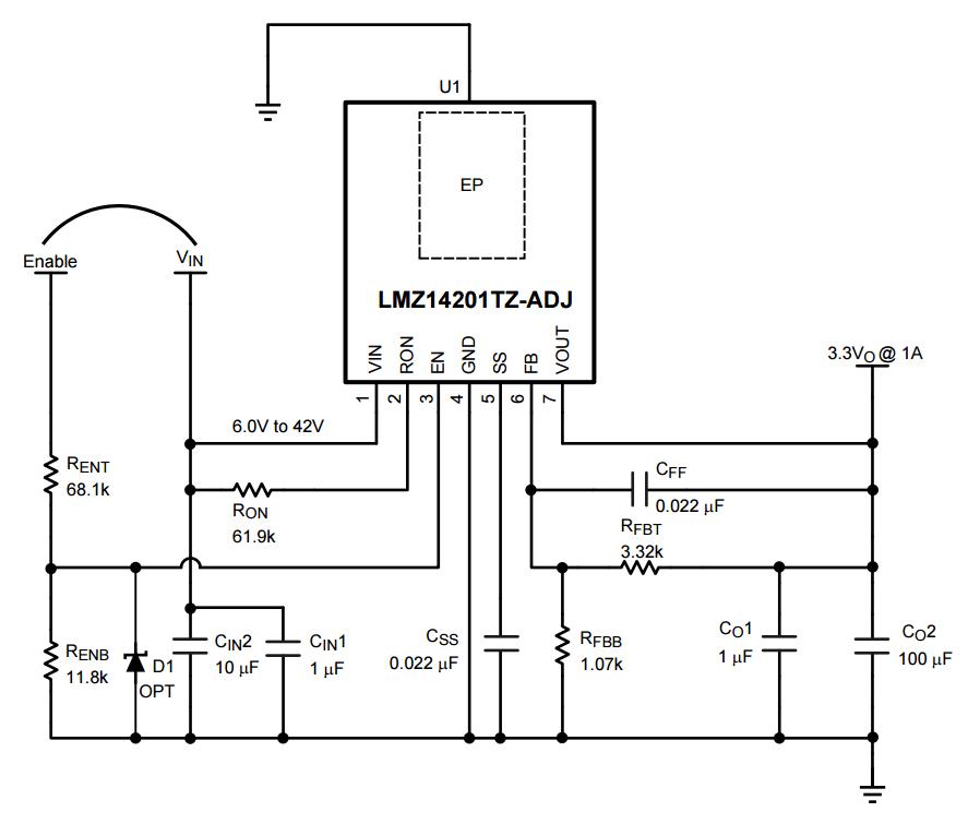 lmz14201schematic